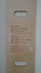 Herinneringen_slideboard